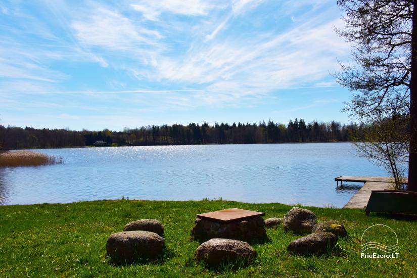 """Sodyba, namelių nuoma """"Gandrė"""" ant Guosto ežero kranto - 18"""