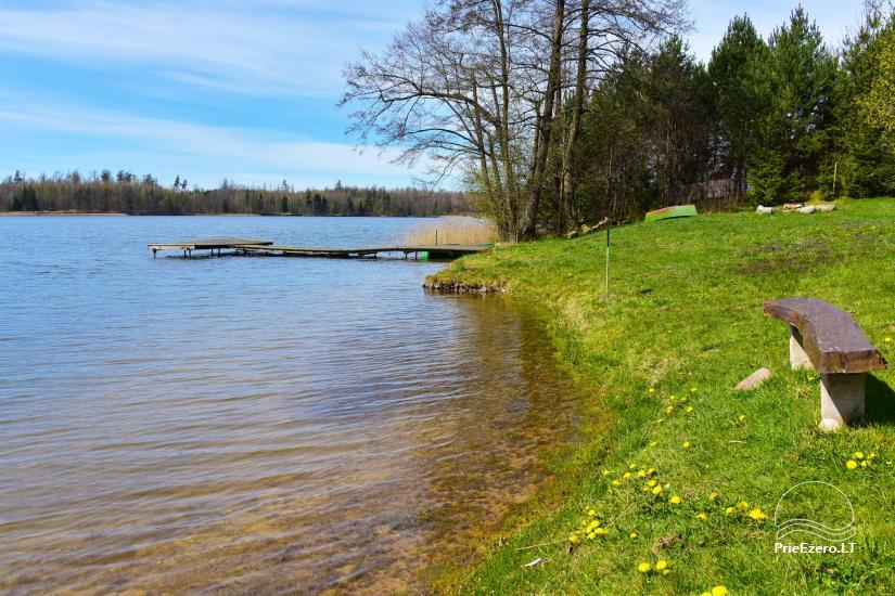 """Sodyba, namelių nuoma """"Gandrė"""" ant Guosto ežero kranto - 19"""