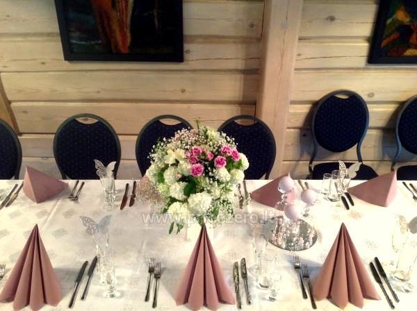 Sodyba prie Utenos užtvankos Raudesynė - poilsis šeimai, 50 vietų salė vestuvėms, krikštynoms, įmonių renginiams - 12
