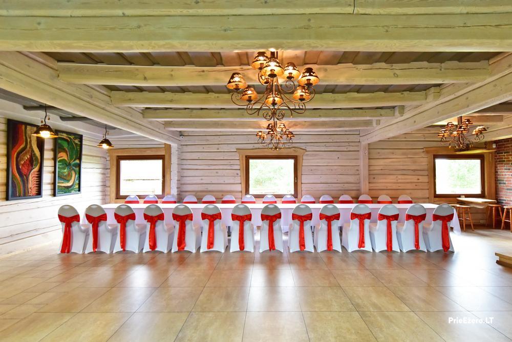 Sodyba prie Utenos užtvankos Raudesynė - poilsis šeimai, 50 vietų salė vestuvėms, krikštynoms, įmonių renginiams - 8