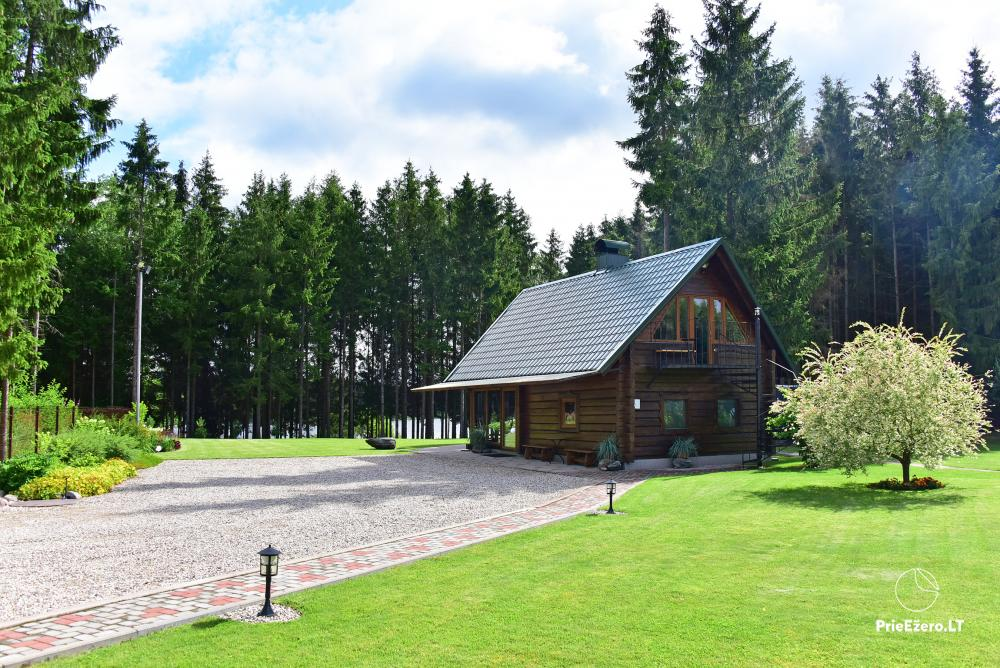 Sodyba prie Utenos užtvankos Raudesynė - poilsis šeimai, 50 vietų salė vestuvėms, krikštynoms, įmonių renginiams - 18