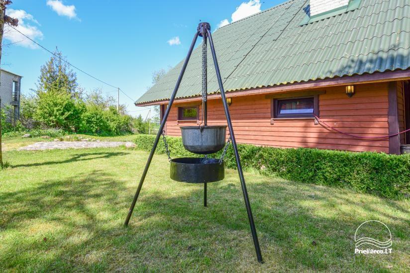Lazdininkų pirtis - sodyba šventėms ir poilsiui. Salė, pirtis, kubilas, terasa, laužavietė - 3