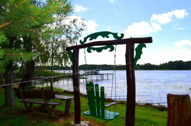 Galuonų sodyba su pirtimi prie ežero poilsiui, vestuvėms ir kitoms šventėms - 13