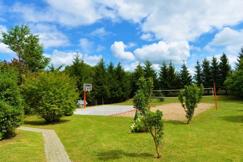 Vištyčio kalvų sodyba: pirtis, pokylių salė, krepšinis, tinklinis, kempingas - 6