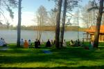 Pirtis ant ežero kranto - 9