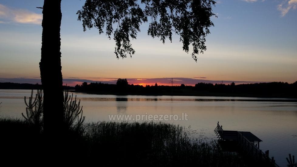 Sodyba Aura su pirtimi Molėtų r. ant Virintų ežero kranto - 7