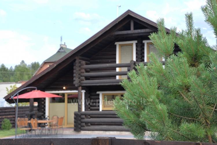 100 kv.m. rąstinė vila Šventojoje. Didelis privatus kiemas - 3