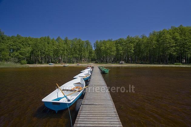 Kempingas Muižnieki Latvijoje prie ežero Usmas - 4