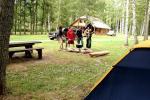 Kempingas Muižnieki Latvijoje prie ežero Usmas - 7