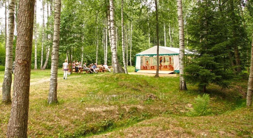 Kempingas Muižnieki Latvijoje prie ežero Usmas - 15