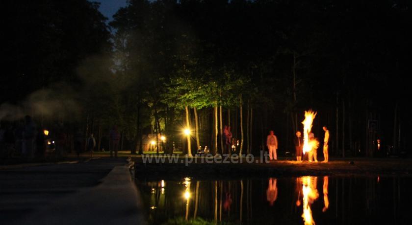 Kempingas Muižnieki Latvijoje prie ežero Usmas - 21