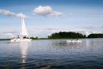 Poilsis PLATELIUOSE! Poilsinė, pirtis, vandens pramogos (plaukimas jachta, katamaranu), atskiri patogumai - ODA - 3