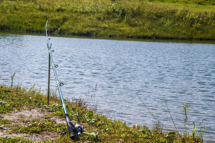 Žvejyba sodybos tvenkiniuose