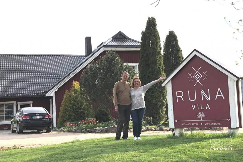 Vila RUNA - poilsis prie Platelių ežero - 2
