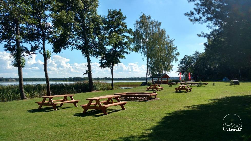 Ežero krantas poilsiavietė ant Galuonų ež. kranto Molėtų raj. - 5