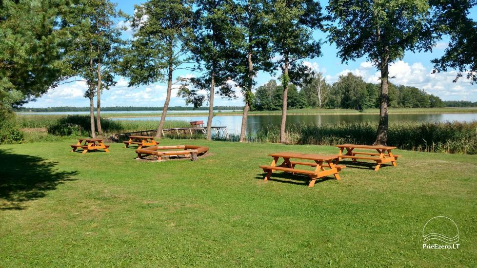 Ežero krantas poilsiavietė ant Galuonų ež. kranto Molėtų raj. - 7