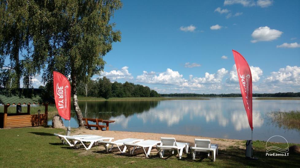 Ežero krantas poilsiavietė ant Galuonų ež. kranto Molėtų raj. - 1