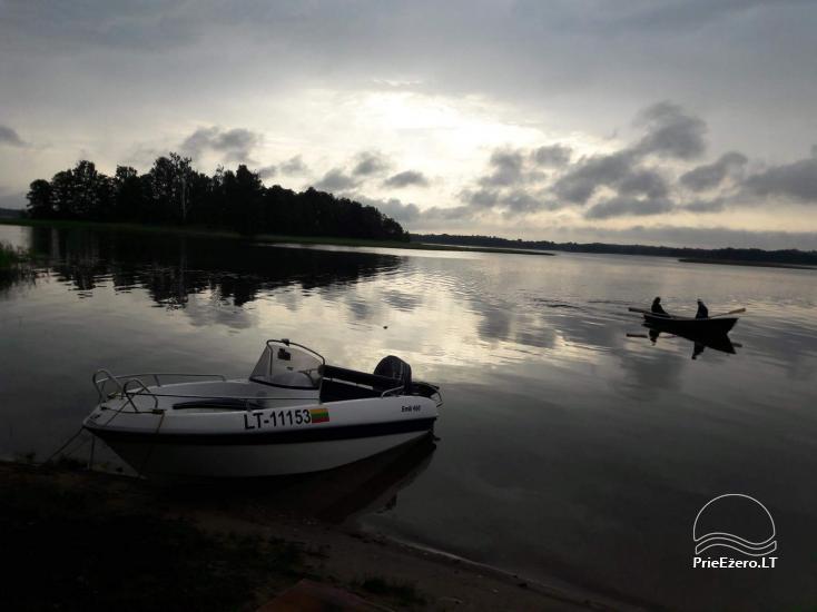 Ežero krantas poilsiavietė ant Galuonų ež. kranto Molėtų raj. - 11