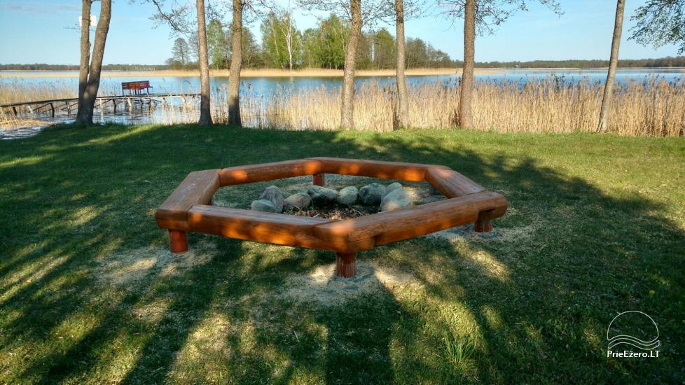 Ežero krantas poilsiavietė ant Galuonų ež. kranto Molėtų raj.: vietos palapinėms, kemperiams - 12
