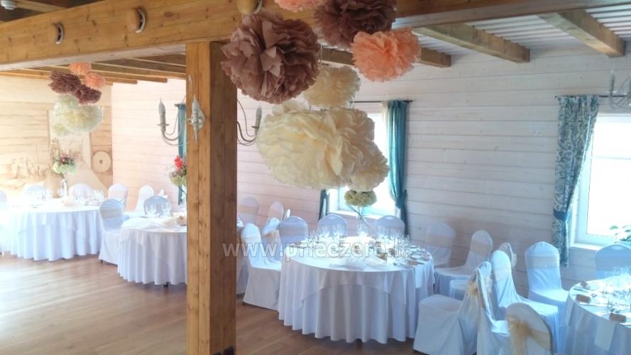 Sodyba-pokylių salė Pagraumenės malūnas vestuvėms ir kitoms šventėms, poilsiui - 16
