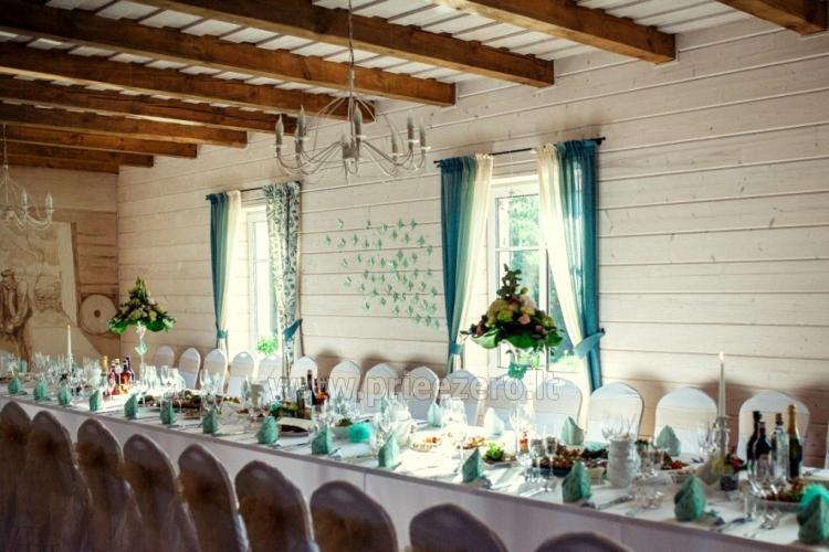 Sodyba-pokylių salė Pagraumenės malūnas vestuvėms ir kitoms šventėms, poilsiui - 25