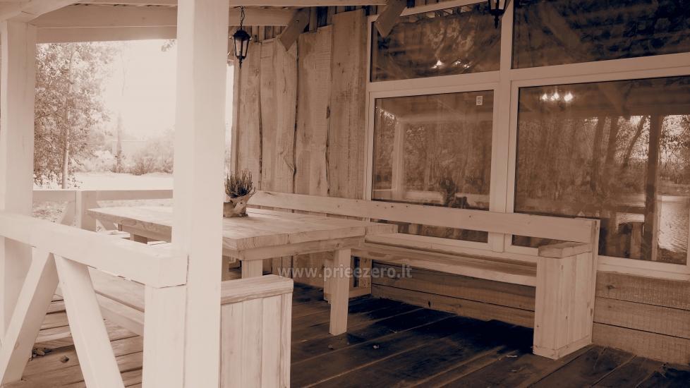 Pokylių salė su pirtimi Velžyje Akordas - 4