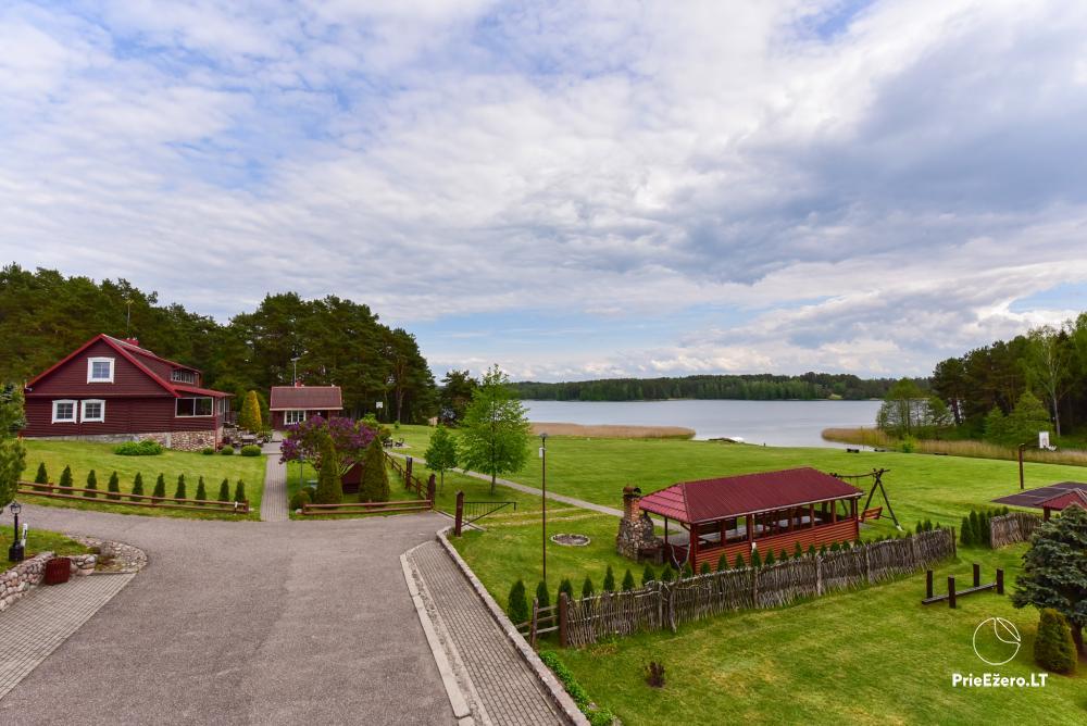 Antano Bielinio sodyba ant Navo ežero kranto Trakų raj. - 23