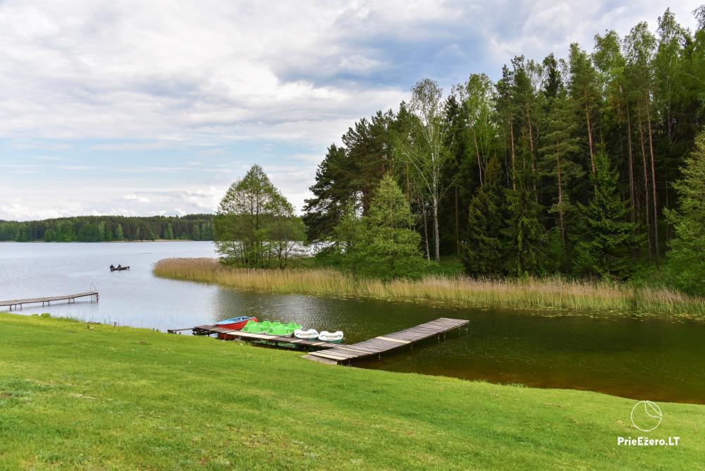 Antano Bielinio sodyba ant Navo ežero kranto Trakų raj. - 21