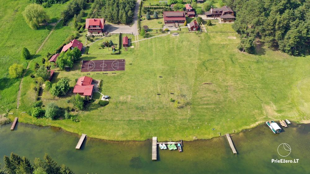 Antano Bielinio sodyba ant Navo ežero kranto Trakų raj. - 2