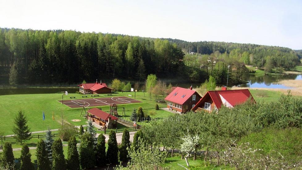 Antano Bielinio sodyba ant Navo ežero kranto Trakų raj. - 1