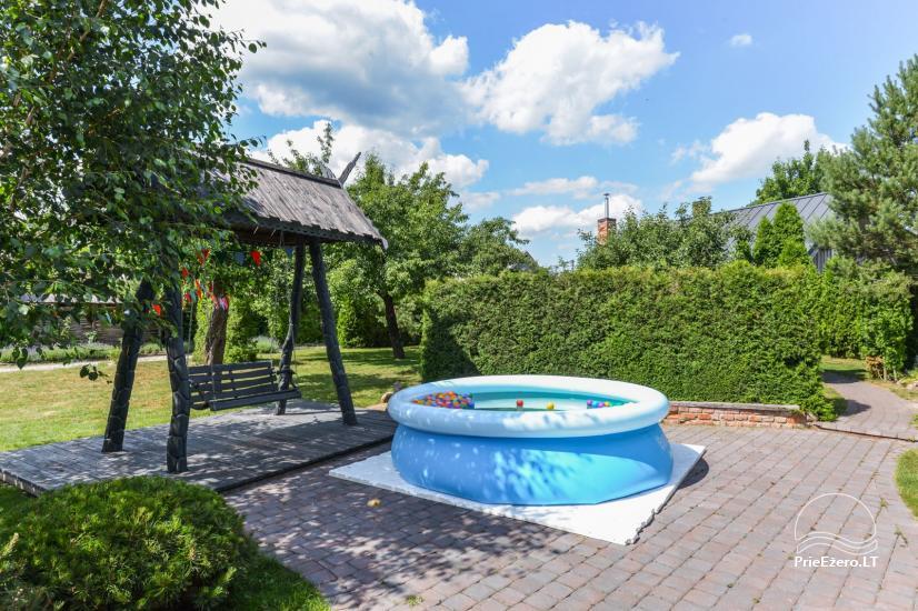 Pirtis su baseinu ir kubilu Papiškių pirtelė - 18 km nuo Kauno senamiesčio - 30