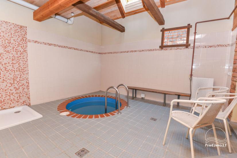 Pirtis su baseinu ir kubilu Papiškių pirtelė - 18 km nuo Kauno senamiesčio - 17