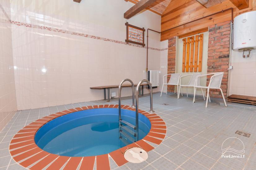 Pirtis su baseinu ir kubilu Papiškių pirtelė - 18 km nuo Kauno senamiesčio - 18