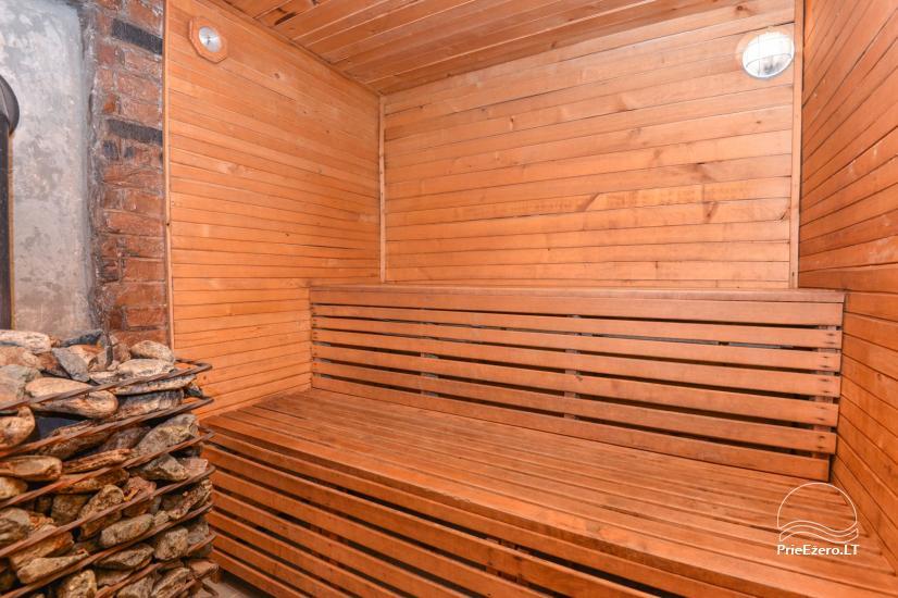 Pirtis su baseinu ir kubilu Papiškių pirtelė - 18 km nuo Kauno senamiesčio - 20