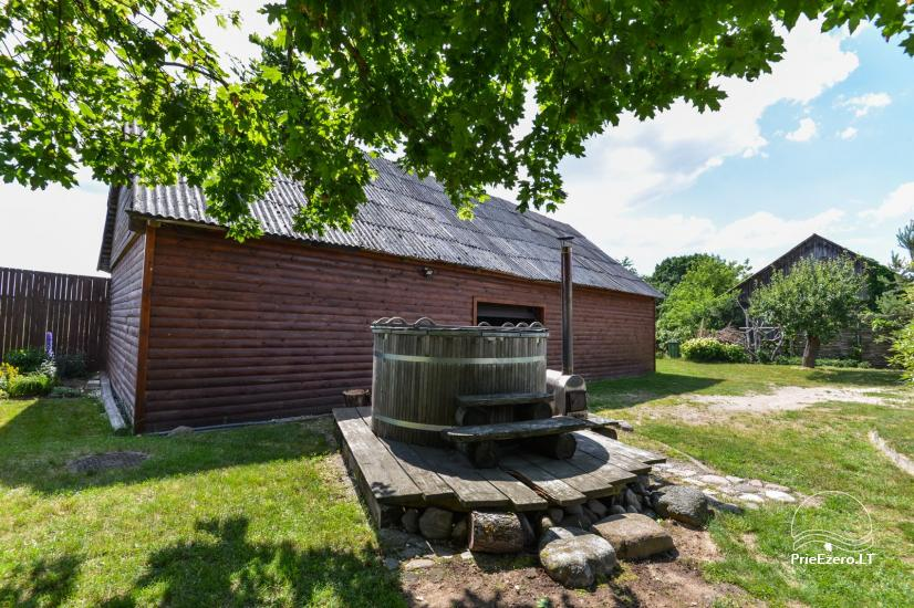 Pirtis su baseinu ir kubilu Papiškių pirtelė - 18 km nuo Kauno senamiesčio - 7