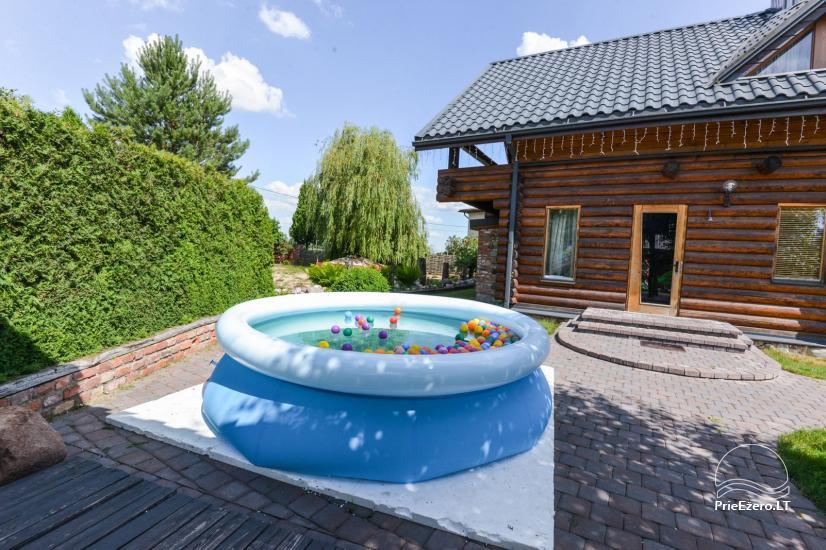 Pirtis su baseinu ir kubilu Papiškių pirtelė - 18 km nuo Kauno senamiesčio - 31