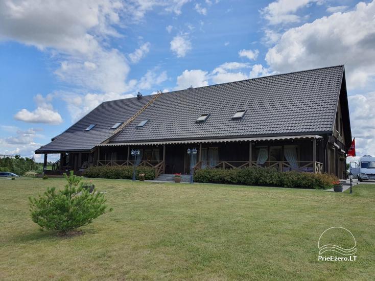 """Stonkų sodyba """"Grapeldvaris"""": pirtis, pokylių salė, 70 miegamų vietų - 2"""