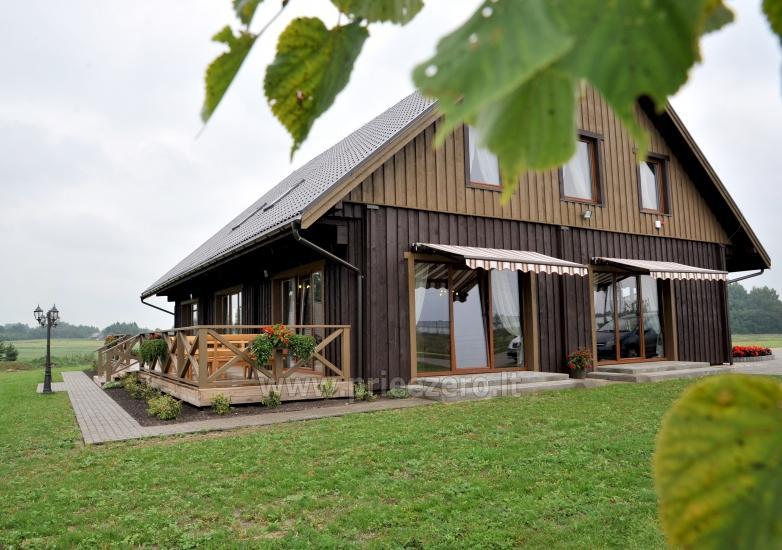 """Stonkų sodyba """"Grapeldvaris"""": pirtis, pokylių salė, 70 miegamų vietų - 1"""