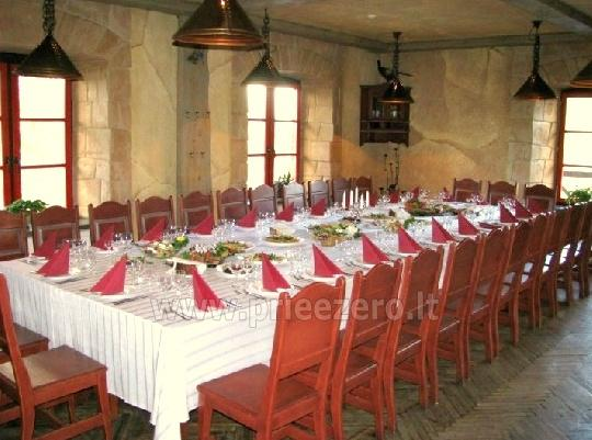 "Restoranas ""Stulpino malūnas"": 50 vt. pobūvių, 30 vt. konferencijų salės - 13"