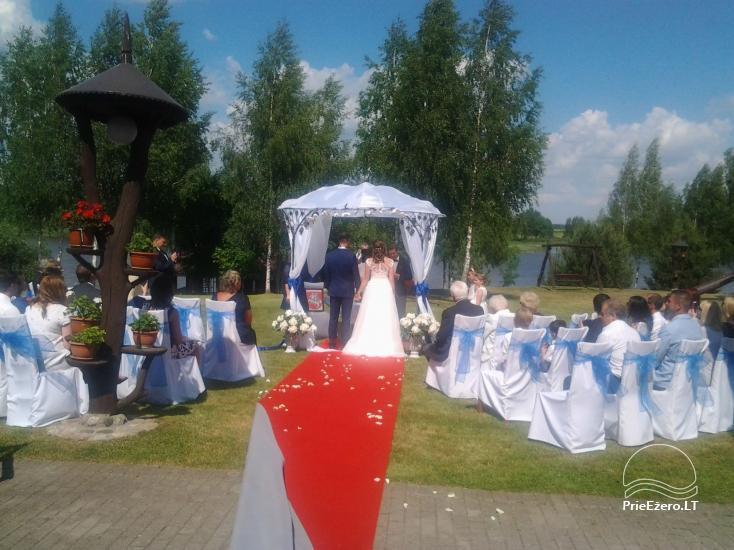 """Sodyba """"Ilgajis"""" ant ežero kranto Ukmergės r. - vestuvėms, poilsiui - 15"""