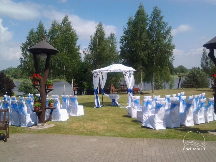 """Sodyba """"Ilgajis"""" ant ežero kranto Ukmergės r. - vestuvėms, poilsiui - 16"""
