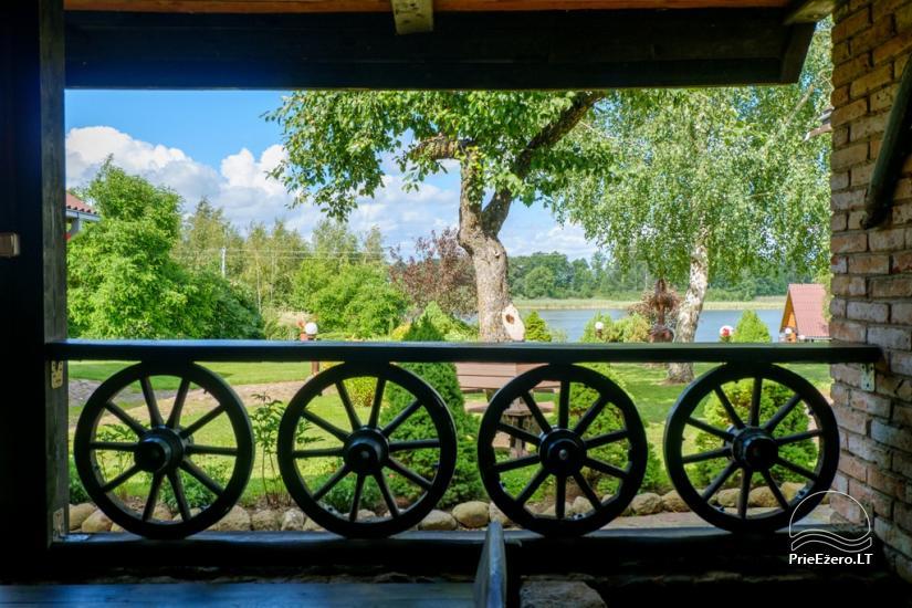 """Sodyba """"Ilgajis"""" ant ežero kranto Ukmergės r. - vestuvėms, poilsiui - 35"""