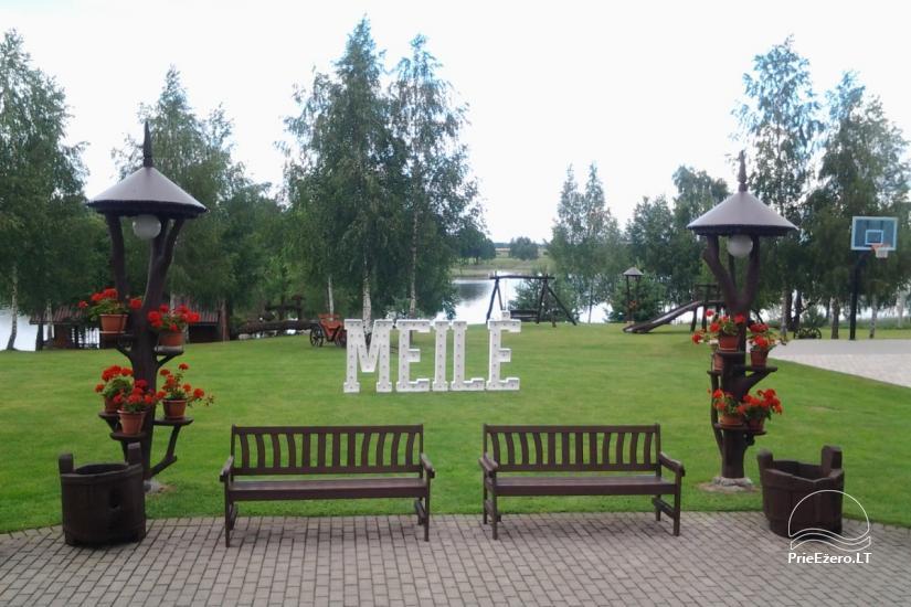 """Sodyba """"Ilgajis"""" ant ežero kranto Ukmergės rajone - vestuvės, poilsis - 7"""