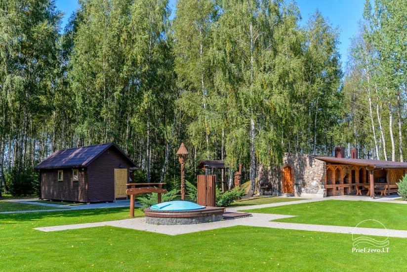 Kaimo turizmo sodyba Bitynė šventėms ir poilsiui - pirtis, kubilas, žaidimų aikštelė, tinklinis - 3