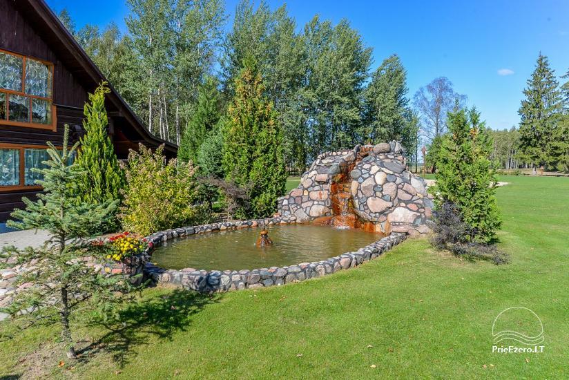 Kaimo turizmo sodyba Bitynė šventėms ir poilsiui - pirtis, kubilas, žaidimų aikštelė, tinklinis - 8