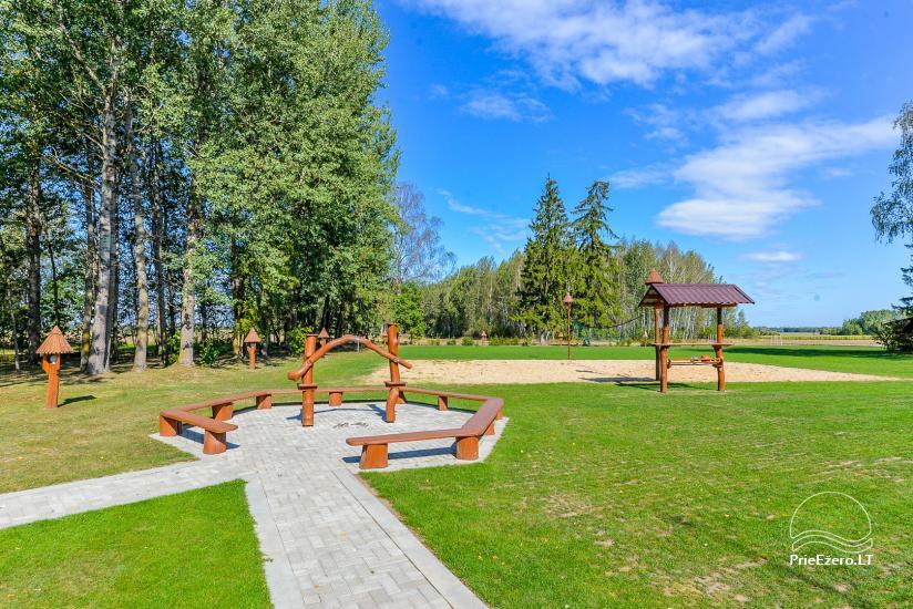 Kaimo turizmo sodyba Bitynė šventėms ir poilsiui - pirtis, kubilas, žaidimų aikštelė, tinklinis - 10