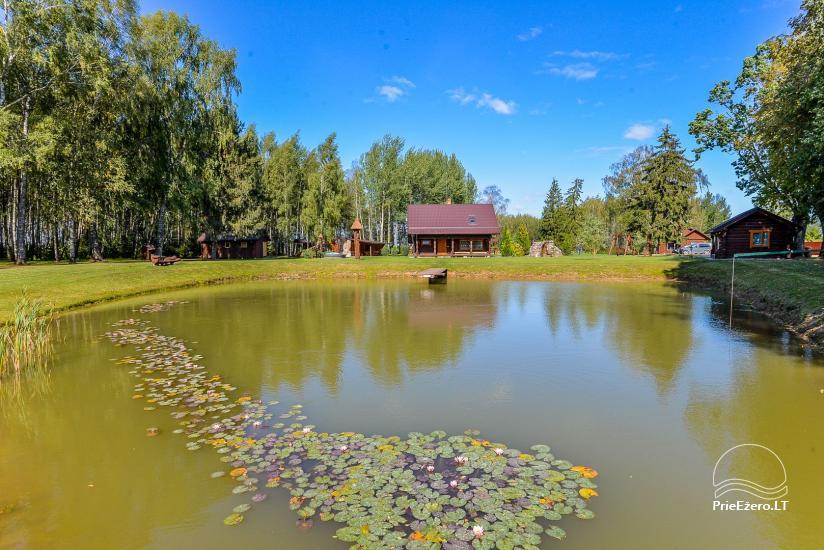 Kaimo turizmo sodyba Bitynė šventėms ir poilsiui - pirtis, kubilas, žaidimų aikštelė, tinklinis - 21