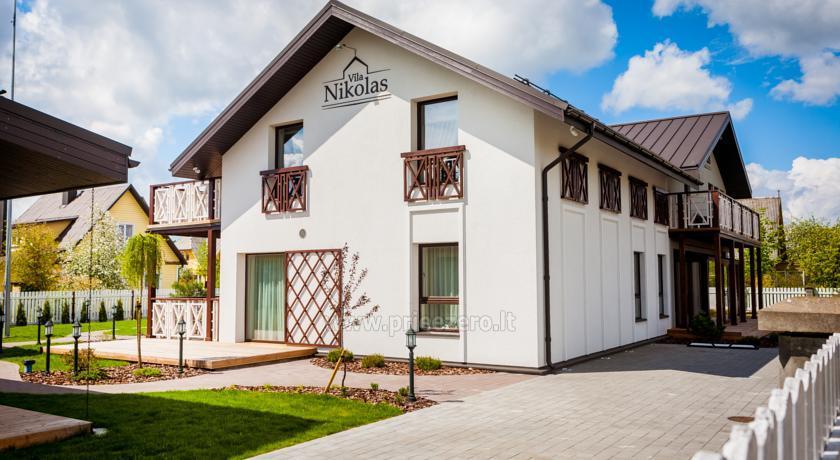 """Apartamentai su virtuvėmis, ramus poilsis Druskininkuose """"Vila Nikolas"""" - 1"""