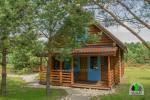 6 žmonėms rąstinis namas su pirtimi - sodyba Pušų giraitė