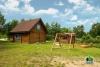 6-8 žmonėms rąstinis namas su pirtimi - sodyba Pušų giraitė - 2